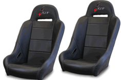 Dragonfire Highback GT Seats (Sold in Pairs) - RZR XP 1000 / XP Turbo / S 1000 / 900 / S 900