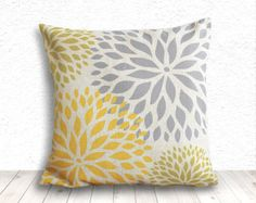 Popular items for dahlia pillow cover on Etsy
