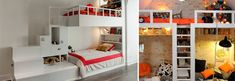 Bunk beds are versatile and necessary when you have 2 or more girls in the bedroom, or your teenage girls frequently ask their friends to stay. Bunk beds are popular small bedroom decorating ideas because it o