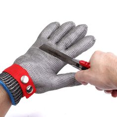 Back To Search Resultssports & Entertainment 3 Pair Cut Proof Stab Protect Stainless Steel Wire Outdoor Gloves Cut Metal Mesh Butcher Anti-cutting Breathable Gloves Fc Cheap Sales 50%