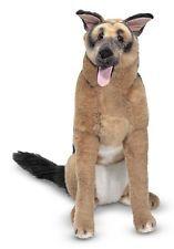 GERMAN SHEPHERD Stuffed Animal Dog Doggy Lassie Child Toddler Police Pet Toddler