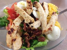 The Food Hussy!: Salad for Lunch? Squirrel it is! - cincinnati dining restaurant lunch downtown cobb salad