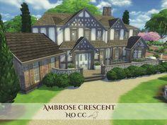 Ambrose Crescent by madabb13 at TSR via Sims 4 Updates