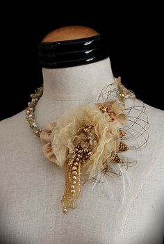 FRANCESCA Yellow Rose Pearl Citrine Necklace by carlafoxdesign, $275.00