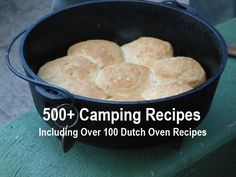 FREE: 500+ Camping Recipes (Incl 100 Dutch Oven Recipes): Many of these recipes can also be cooked at home in the kitchen or on the barbecue etc. Don't wait until the weather is nice and you go camping, to try some of these recipes. The free PDF of camping recipes would also be useful for emergency preparedness as you'll likely end up cooking outdoors if the SHTF. Download and print out this free PDF cookbook.
