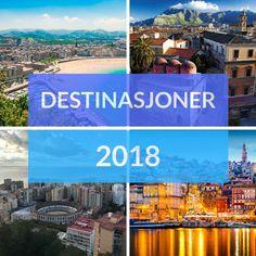My 2018 destinations #digitalnomad #travel #travelinspiration #traveltips