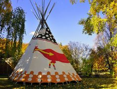 teepee by LUMIN8, via Flickr