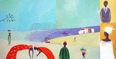 Illustration originale de Aurélia Fronty - Les mangues 2   Oeuvres   Galerie Robillard