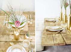 Source: Adam Barnes/Petal via Wedding Chicks A few weeks ago, we looked at some of the gorgeousness and variety that has been floating around the web in the form of protea bouquets, from pincushion… Bottle Decorations, Wedding Venue Decorations, Wedding Venues, Wedding Ideas, Table Decorations, Protea Centerpiece, Table Centerpieces, Protea Bouquet, Bloom Where You Are Planted