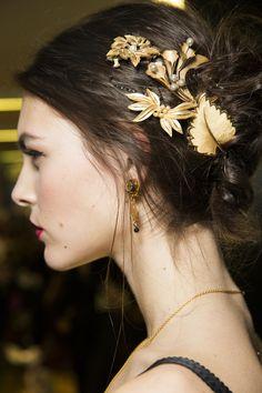 Dolce & Gabbana backstage | Коллекции осень-зима 2015/2016 | Милан | VOGUE