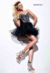 Sherri Hill 2012 Prom Dress 1403 - little black dress