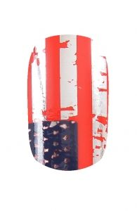 Stars and Stripes Nail Wraps | Hollywood Nail Design £5.50 for a pack of 15.