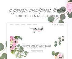 feminine theme for blogging
