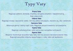 5 typów Vata - subdosze