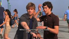 the oc. Let's be real who didn't love Seth Cohen