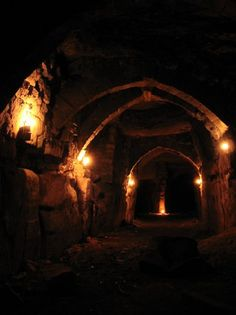 The catacombs within Vakerin's domain.