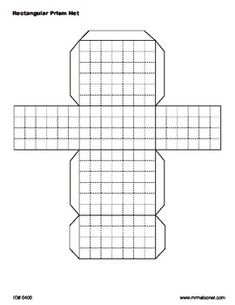 Explore the concept of surface area by folding the nets of rectangular prisms into 3-dimensional solids. Each of the four nets included have the s...