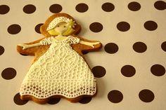 sugar veil girl cookie