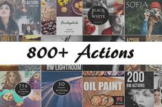 (90% Off) 800+ PS Actions Bundle by Linspace