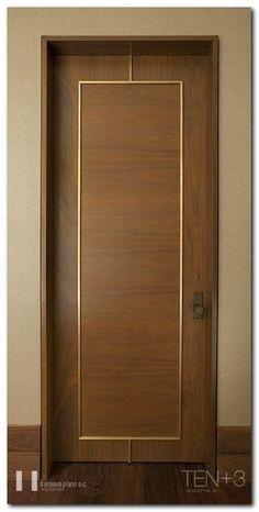 New main door design modern architecture 34 Ideas Bedroom Door Design, Door Design Interior, Bedroom Doors, Modern Interior Doors, Modern Wood Doors, Contemporary Interior, Interior Paint, Interior Ideas, Wooden Door Design