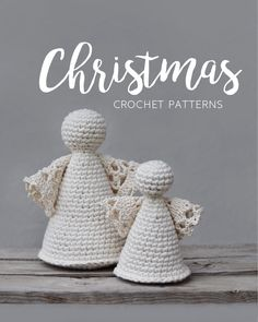 A collection of Christmas decoration crochet patterns that will get you right into that festive mode
