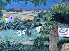 Pierre Bonnard - The Linen