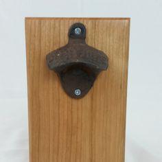 Cherry Magnetic Bottle Opener – Magnetic Bottle Opener – Rustic Bottle Opener – Beer Bottle Opener – Soda Bottle Opener – Bottle Cap Opener