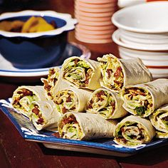 BLT Wraps // Appetizers // Paula's Best Dishes: Paula Deen