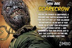 I took Zimbio's Batman villains quiz and I'm Poison Ivy! Buzzfeed Test, Batman Year One, Scarecrow Batman, Gotham Villains, Jonathan Crane, Sci Fi Films, Comic Books Art, Book Art, Poison Ivy