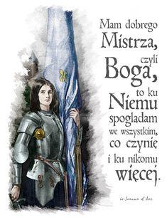 Dziś mija 589 rocznica narodzin dla nieba  św. Joanny d'Arc, dziewicy Orleańskiej, patronki i bohaterki narodowej Francji.  Jest także patronką żołnierzy, a także - co w naszych czasach chyba najaktualniejsze - osób wyśmiewanych za swoją wiarę. ✝️ Własnie o odwagę do publicznego przyznawania się do Chrystusa, polecamy wam, za jej wstawiennictwem prosić :) 🛐  Jakiś czas temu wykonaliśmy cyfrową renowację pocztówki z św. Joanną, link do produktów z tym projektem możecie znaleźć w opisie :) Cover, Books, Movie Posters, Poster, Livros, Film Poster, Popcorn Posters, Livres, Book