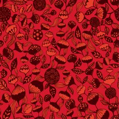 'Stella - Fire'  Luella & Toots on Spoonflower