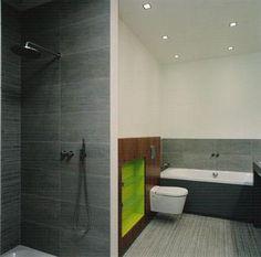 12x24 cement tiles on walls sideways