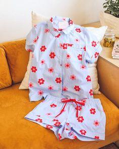 Retro Daisy Short Sleeve Sleep Top by ban.do - pjs - ban.do 2d24d8f3d