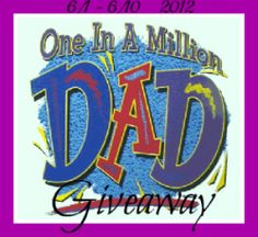 One in A Million Dad Giveaway Win $200 to lowes or home depot!