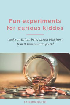 I love these experiments on the Little Passports blog! | Kite Kid Mama #funscienceexperimentsforkids #staycurious #kitekids #STEMactivities #distancelearningelementary #homelearning #suddenlyhomeschooling #littlepassportsscience #stemelementary #scienceexperimentskids #scienceexperimentskidselementary #howtomakepenniesturngreen Cool Science Experiments, Stem Science, Gifted Education, Science Education, Science Activities, Activities For Kids, Little Passports, Stem Classes, Stem For Kids