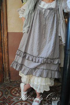 MLLE HORTENSE : Robe bretelle