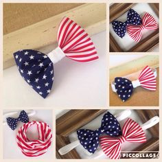 New 4th of July accessories for your little boy or girl! ❤️