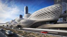 Kral Abdullah Finans Bölgesi Metro İstasyonu / Zaha Hadid Architects