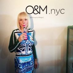 O&M.nyc is celebrating its grand opening and we're being you pics live from the action! Stay tuned for more party snaps and let the games be...