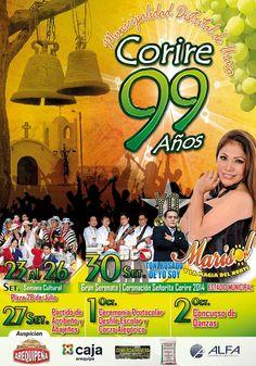 Aniversario del distrito de Uraca - Corire, provincia de Castillo (Arequipa)
