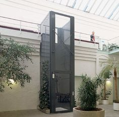 Elevadores residenciais montacargas plataformas for Hormigon celular casero