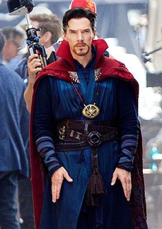 Benedict as Dr Strange