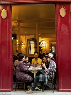 La Manuela, Madrid. Spain cafe. Friendship for introverts is usually something we do on purpose.