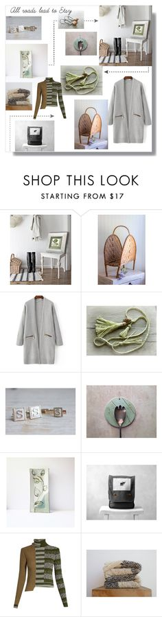"""All roads lead to Etsy."" by glasspaperscizzors ❤ liked on Polyvore featuring Maison Margiela"
