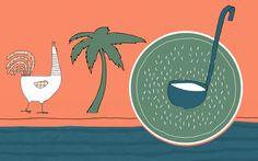 Agenturküche: Ein Ausflug nach Thailand #illustration #rezept