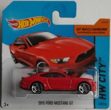 Hot Wheels Ford Mustang 2015 (colección HW City)