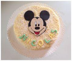 Torta mimosa di topolino  #tortatopolino #tortamimosa #tortamimosaallefragole #mickeymousecake