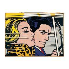 Roy Lichtenstein #2 ❤ liked on Polyvore