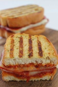This Grilled Pizza Sandwich Recipe is my families absolute favorite!