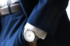 Classic and timeless. 316l Stainless Steel, In This Moment, Watches, Classic, Silver, How To Wear, Outfits, Derby, Suits